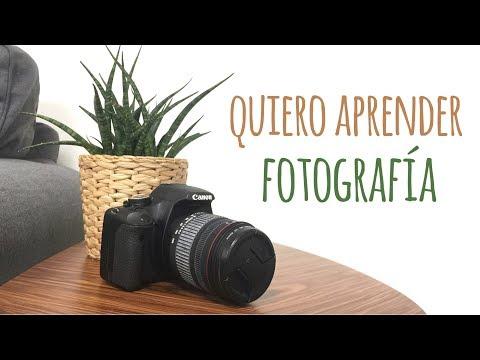 Quiero aprender fotografía!!