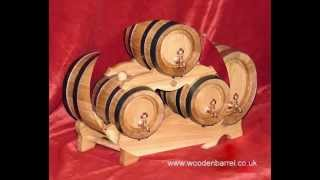 Oak Storage Barrels, Wood Barrels, Wooden Barrels