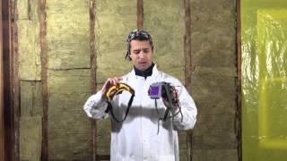 DIY Mineral Wool Installation & Respirator Safety