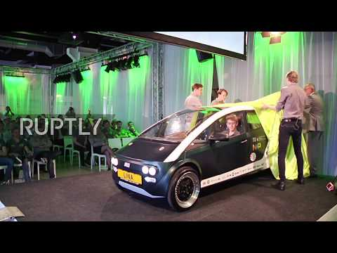 Netherlands: Dutch students unveil world's first biocomposite car