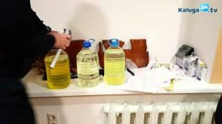 Тест трех образцов бензина в тёплом помещении
