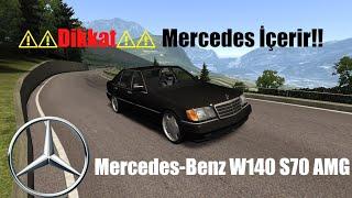 Mercedes-Benz W140 S70 AMG   -Assetto Corsa-