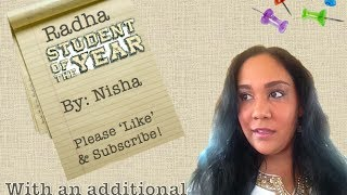 Radha- Student of the Year