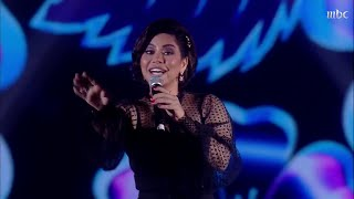 شيرين من قلب الرياض تحيي وطنها بأغنية