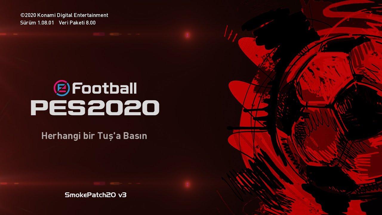 PES 2020 GÜNCEL LİSANS VE TRANSFER YAMASI 2020/2021 ( SMOKE PATCH 20 V3 )