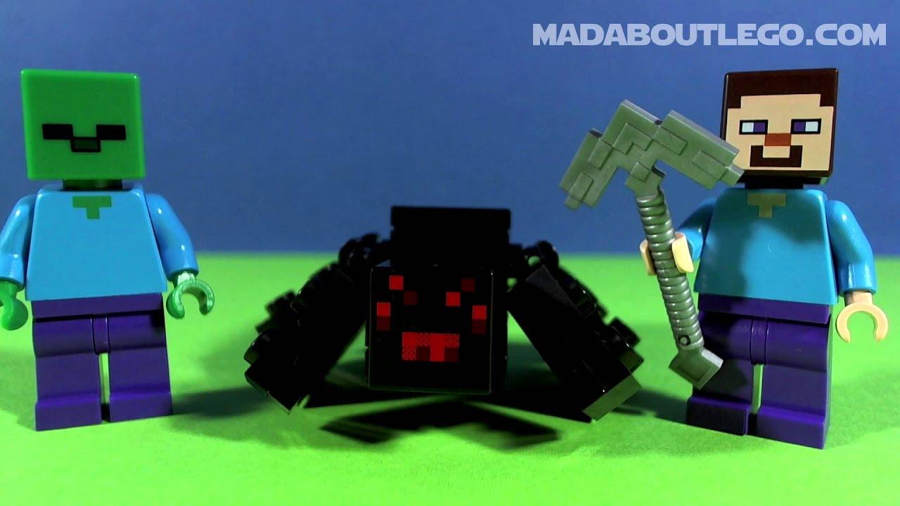LEGO MINECRAFT The CAVE YouTube - Minecraft die grobten hauser