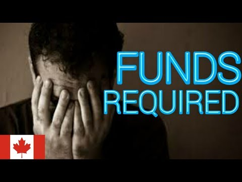 Total funds required in canada for spp and non-spp student v
