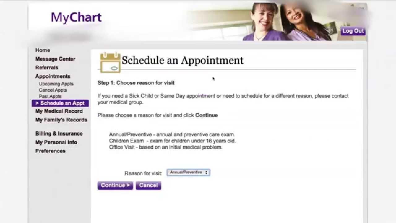 Mychart online medical records youtube