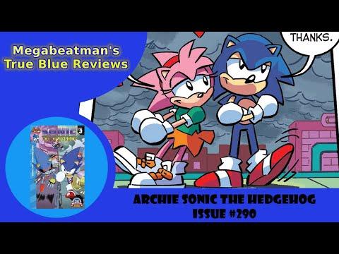 Sonic The Hedgehog #290 - A Comic Review by Megabeatman