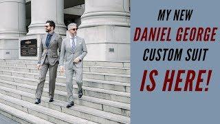 Daniel George Menswear Part 2 | The Finished Custom Suit