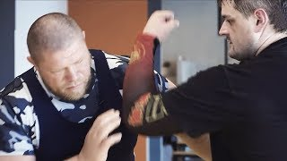 Новоселову показали как делать больно / Самый жесткий вид борьбы