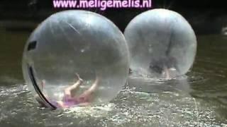 melige melis aquaballen tijdens kinderfestival op camping de Holenberg Schaijk