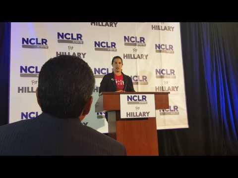 Culinary Union's Yvanna Cancela on NCLR Action Endorsing Hillary Clinton