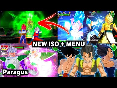 DOWNLOAD NEW DBZ TTT MOD BT3 ISO + MENU With DBS Broly Father Paragus And DBS Music