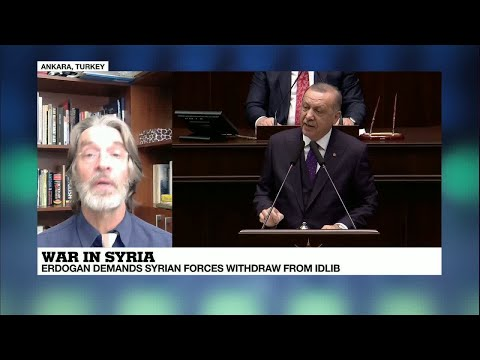War in Syria: Turkish president Erdogan demands Syrian forces withdraw from Idlib