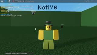 Notive Script Teil 1 - ROBLOX Void Script Builder