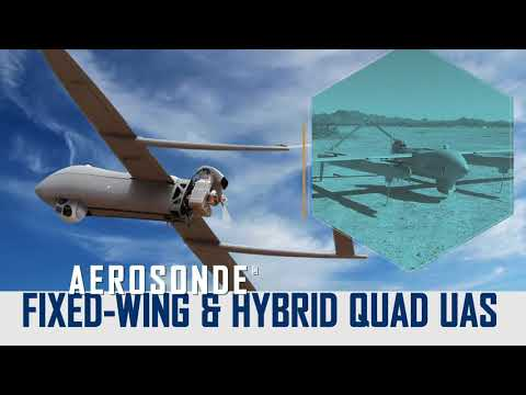 Aerosonde® Fixed-Wing to Hybrid Quad