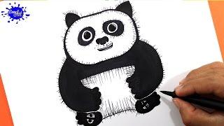 How to draw Po Kung fu panda 3/ Como dibujar a Po kung fu panda 3 /Kung Fu panda 3