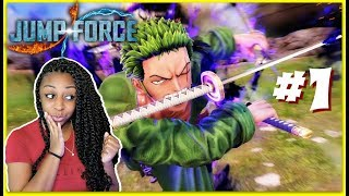LET'S BEGIN!!! | Jump Force Story Mode Episode 1 Gameplay!!!