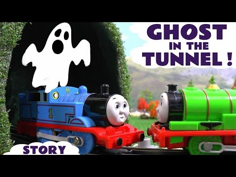 Thumbnail: Thomas and Friends Toy Trains Lego Ghost Story with Cars - Train Toys for kids and children TT4U
