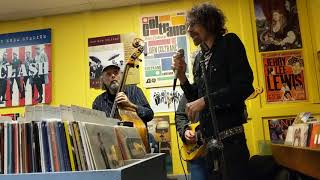 Surprise Peter Wolf performance at Dyno Records in Newburyport