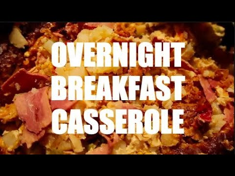 Overnight Breakfast Casserole || #Crocktober || #ytmm Collab || Recipe