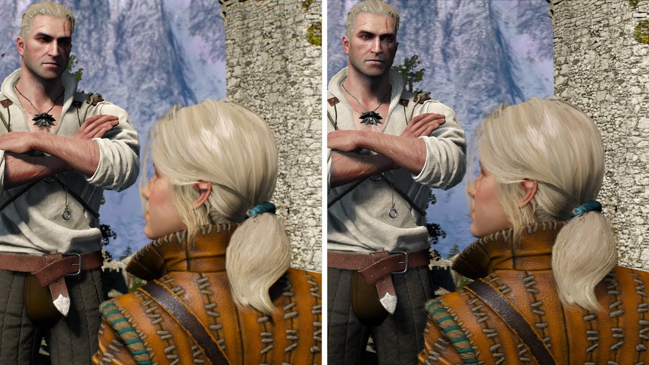 the witcher 3 ps4 pro patch