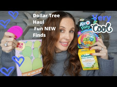 NEW DOLLAR TREE HAUL |Lots of fun new Finds :)
