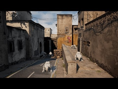 Building Counter-Strike's Dust 2 In UE4 (also... Robots)