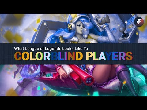 What League of Legends Looks Like to Colorblind Players