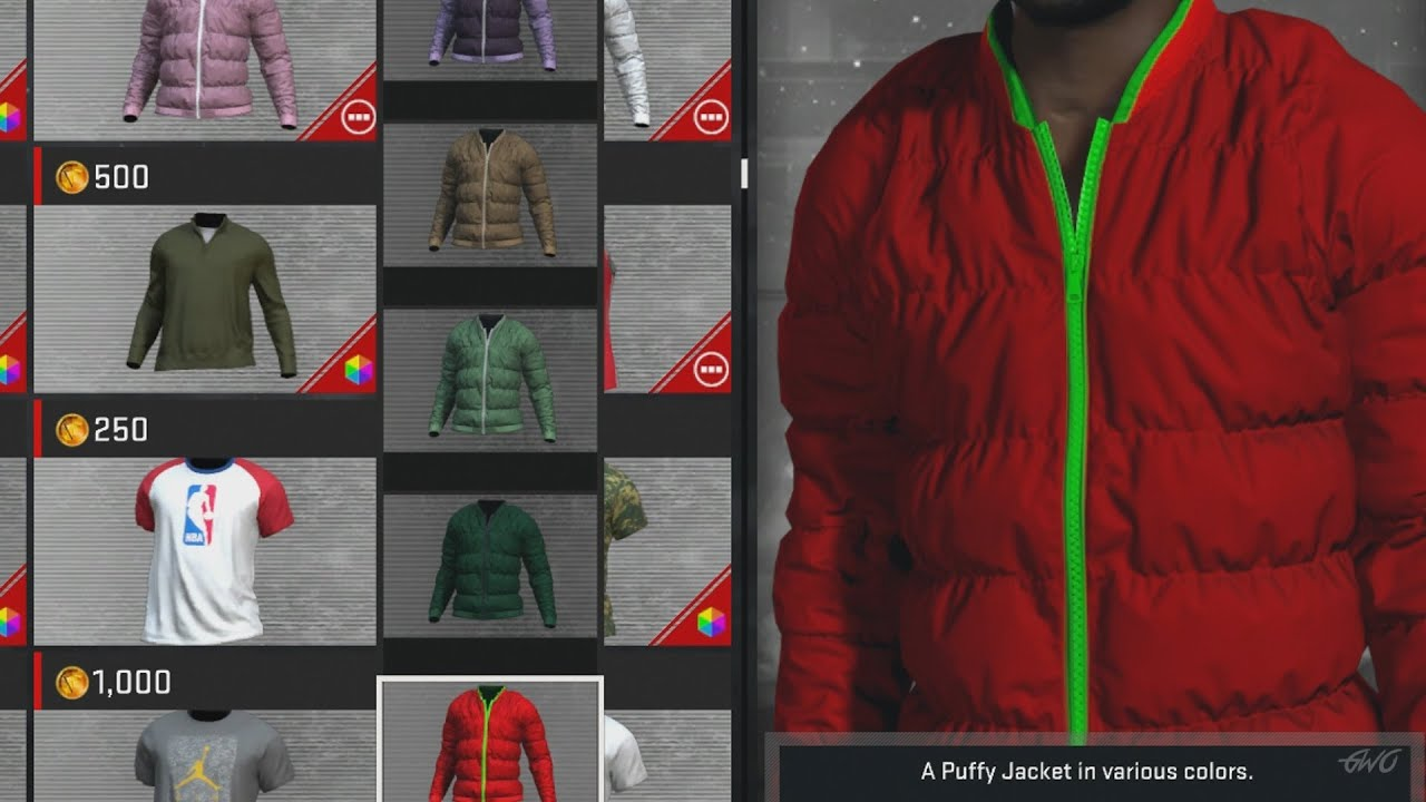 NBA 2K17   MYPLAYER FULL STORE AND CLOSET FEAT. TOPS, BOTTOMS, ACCESSORIES  U0026 MORE!!!   YouTube