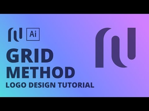 N Negative Space Logo Design Tutorial thumbnail