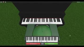 Roblox Virtual Piano - Stay by Rihanna