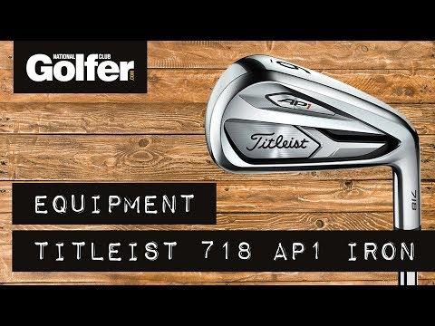 Titleist 718 irons fitting feature - Golf equipment