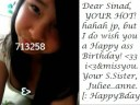 Happy Birthday Sinad.S