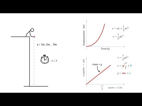 Graphing Your Freefall Experiment Data
