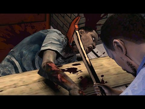 Lee Kills His Zombie Brother and Moves to a New Safehouse (The Walking Dead | Telltale Games)