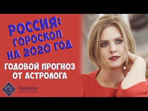 Гороскоп России на 2020 год -Предсказания астролога Калининой Татьяны