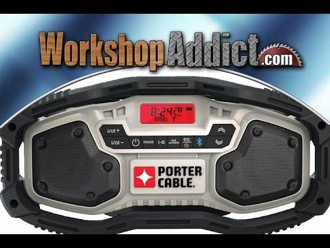 Porter Cable 20 Volt Max Bluetooth Radio Pcc771b