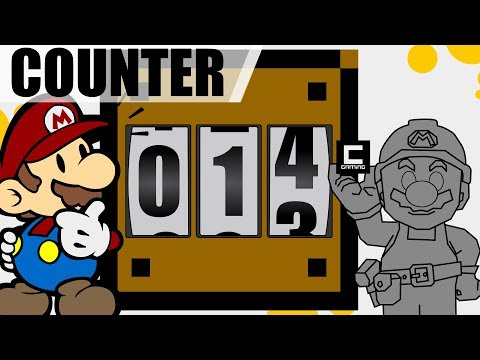 Tips, Tricks and Ideas with Counters in Super Mario Maker.