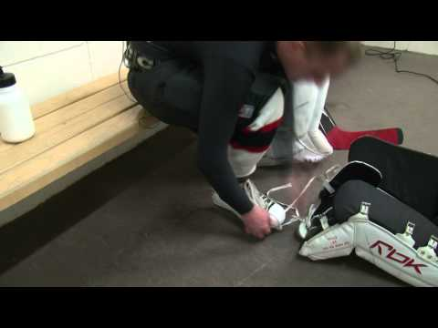 How To Put On Hockey Goalie Gear In The Proper Order