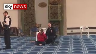 Knife attacker had prayed at mosque before