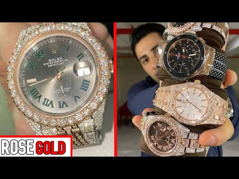 TRAX REVEALS INSANE ROSE GOLD WATCH PRICES