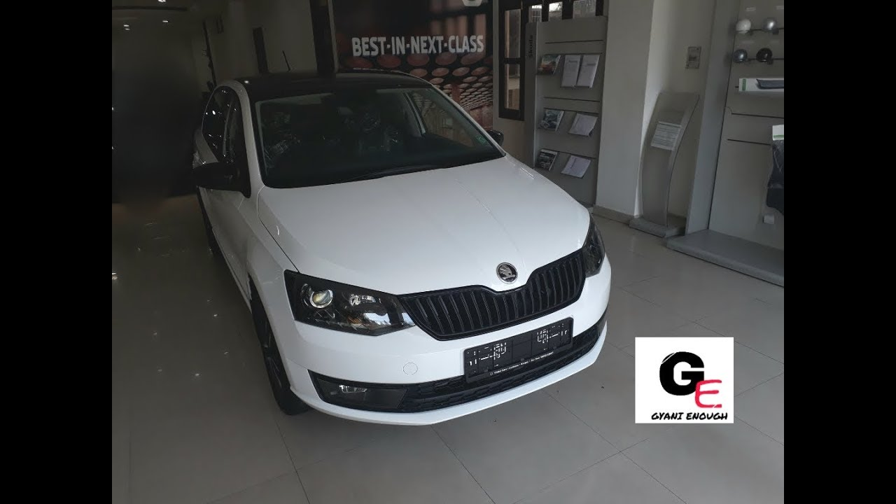 Skoda Rapid Monte Carlo Edition Actual Showroom Look With
