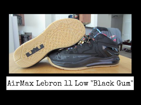 "Nike Air Max Lebron XI 11 Low ""Black Gum"" Review + On Feet ..."