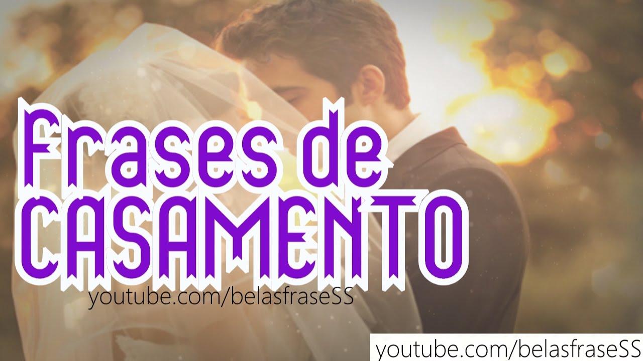 Amor Frases Anoche: FRASES DE CASAMENTO