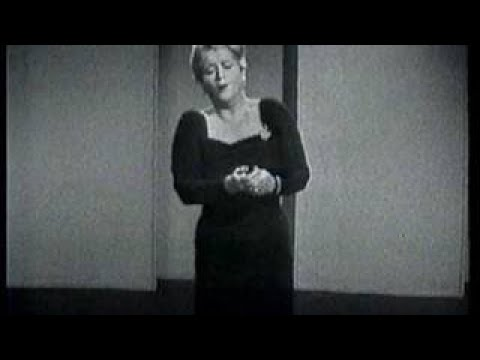 Joan Hammond Sings and Talks About O My Beloved Father - The Best Documentary Ever