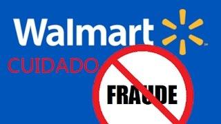 site falso do Wallmart cuidado