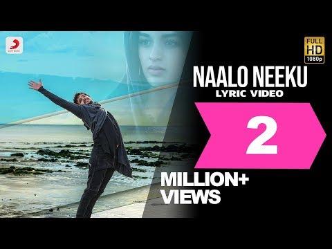 Mr. Majnu - Naalo Neeku Lyric Video (Telugu) | Akhil Akkineni | BVSN Prasad | Thaman S, Venky Atluri