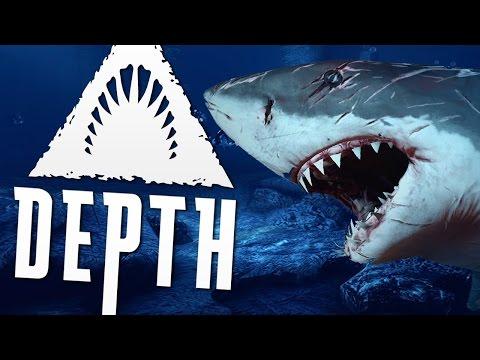 Let's Play - Depth - Med Bebe - Part 2 - The Great White Babe's! - [Dansk]